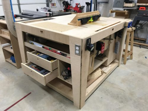 Outfeed Assembly Table