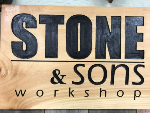 Stone and Sons sign