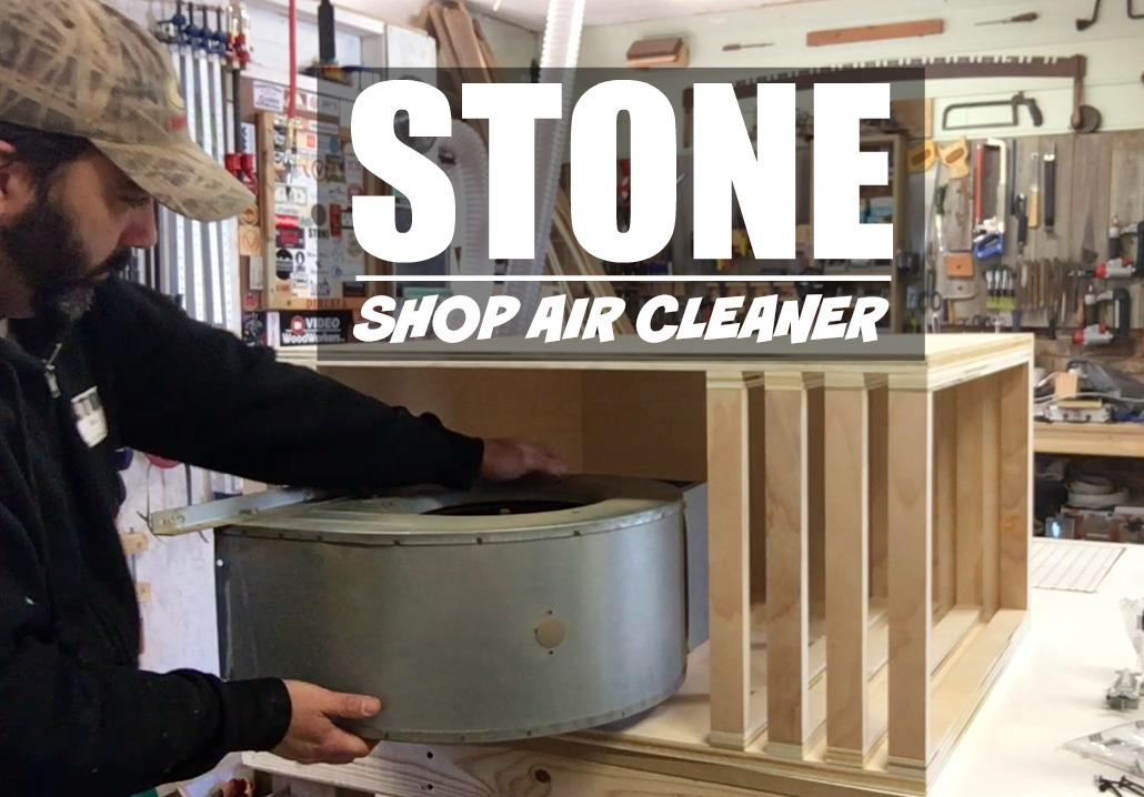Installing A Shop Air Cleaner Stone And Sons Workshop