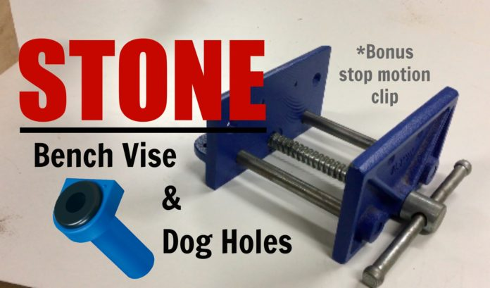 bench vise and dog holes