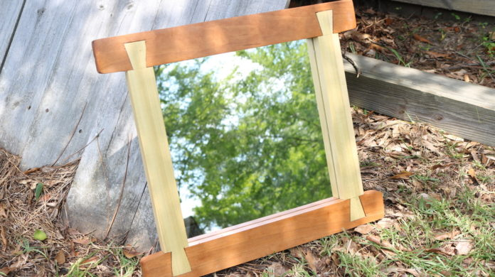 Handcut Dovetail Mirror