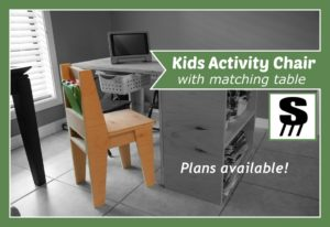 Kids activity chair
