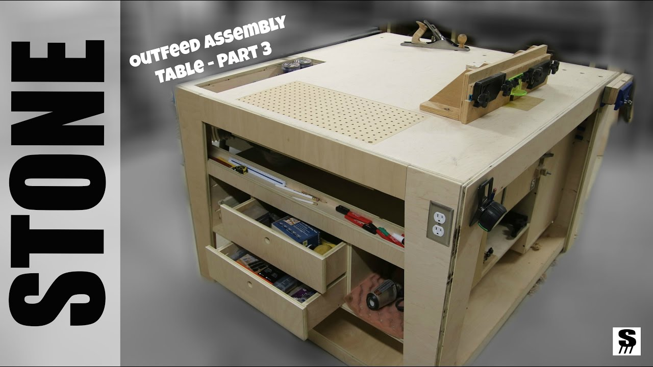 Outfeed Assembly Table - Woodworking Shop Table