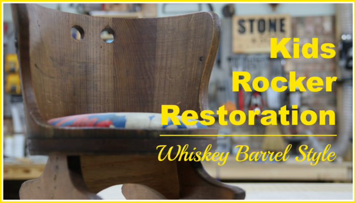 Kids Rocker Restoration Thumbnail