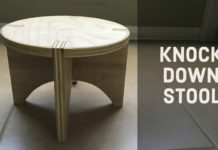 Knock Down Stool - Main