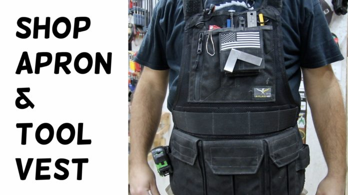 Shop Apron and Tool Vest