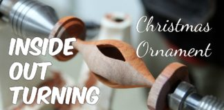 Christmas Ornament - Inside Out Turning