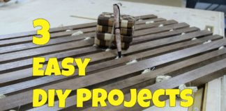 3 easy diy projects