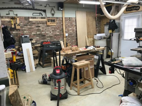 Woodworking Shop Layout Stone And Sons Workshop