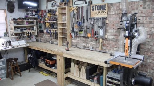 Shop Rearrangement Stone And Sons Workshop