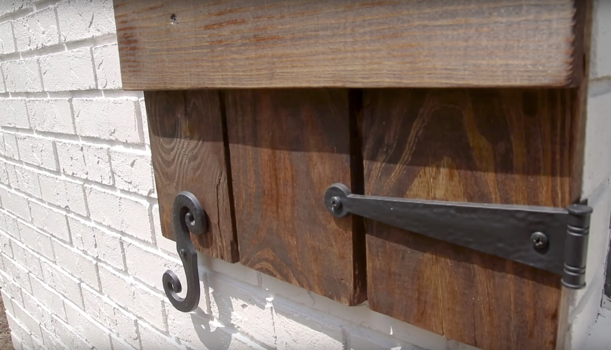 Diy Shutters Home Improvement Woodworking Series By Stone