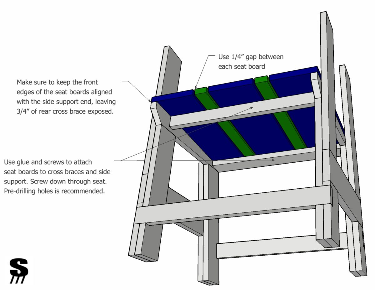 Diy Patio Chair How To Make A Chair By Stone And Sons Workshop