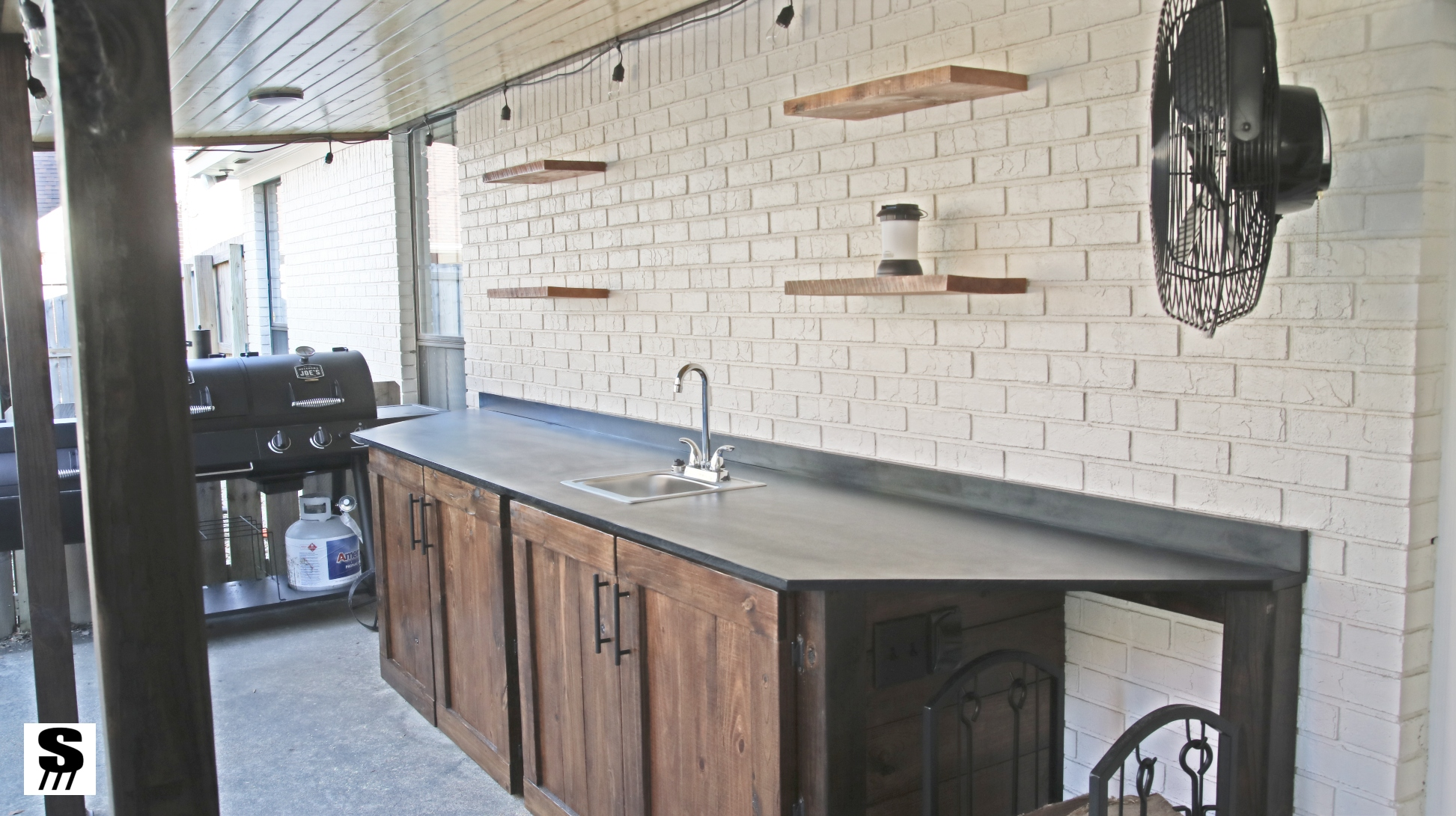 Diy Outdoor Kitchen By Stone And Sons Workshop